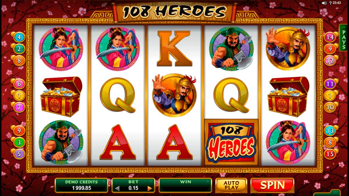 108 Heroes Slot Game