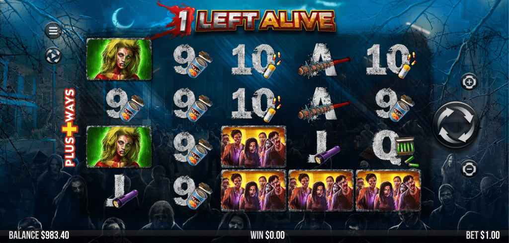 1 Left Alive Slots Game Play