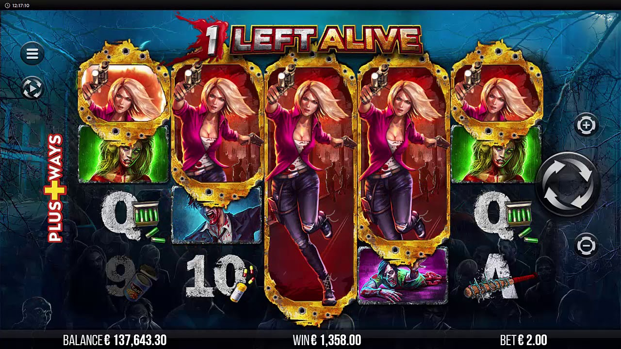 1 Left Alive Slots UK Game Play