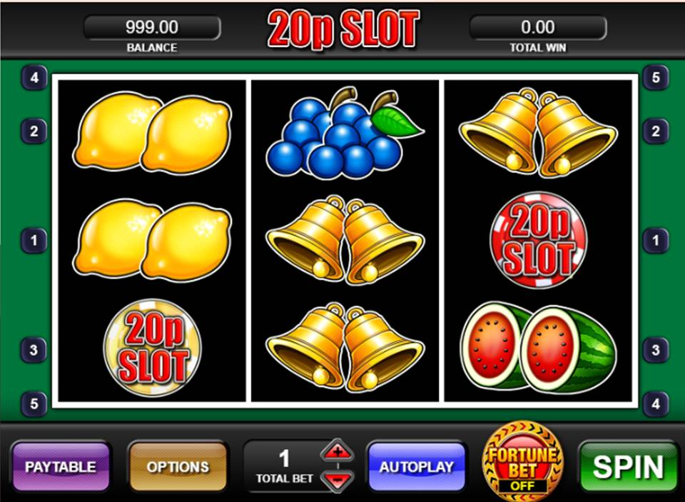 20p Slot Games
