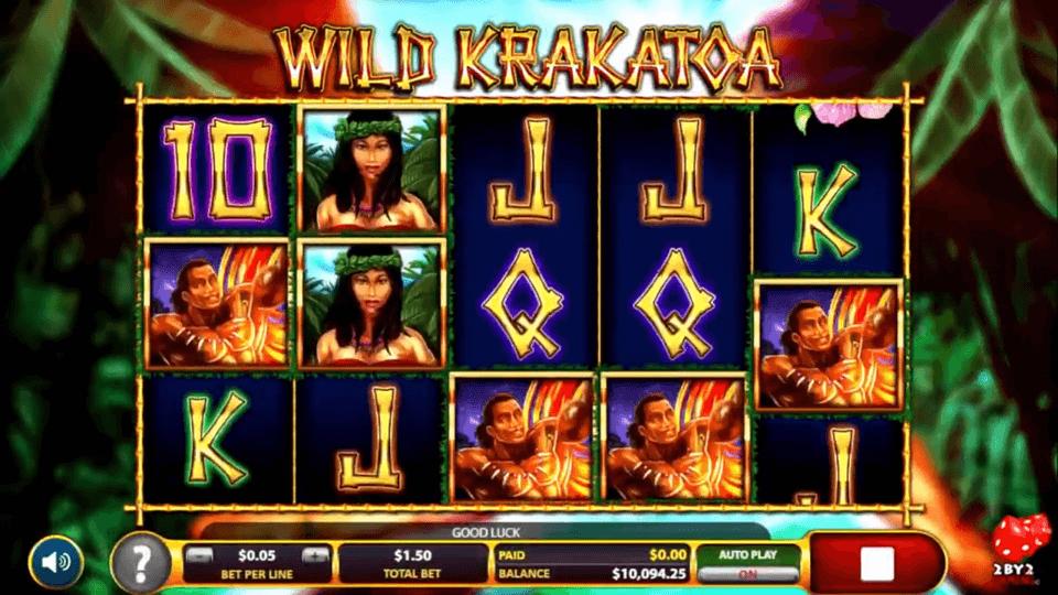 Wild Krakatoa Slots UK