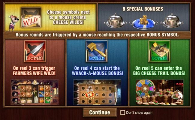 3 Blind Mice Slot Bonus Games