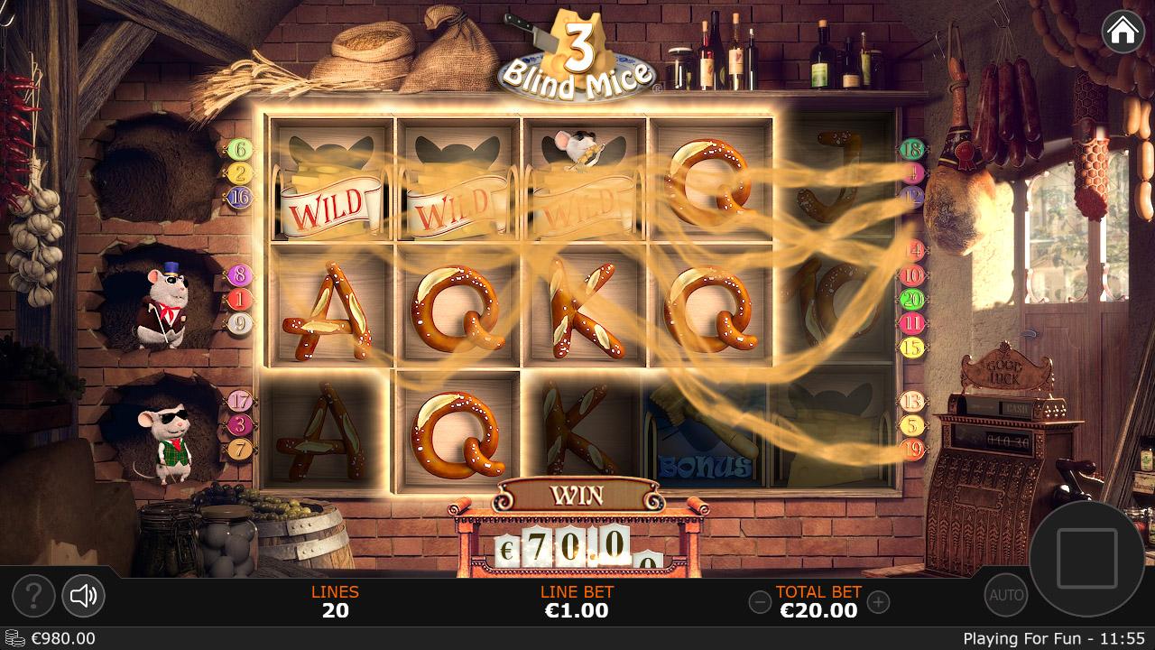 3 Blind Mice Slots Online
