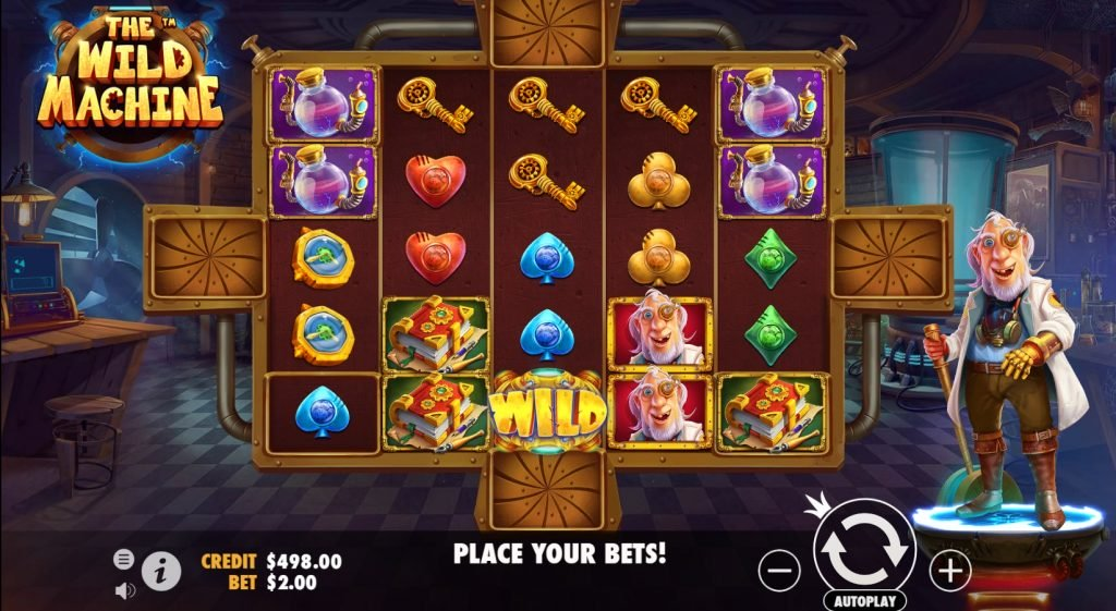 The Wild Machine Slots UK