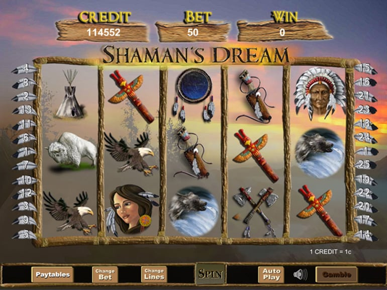 Shamans Dream Gameplay Slot
