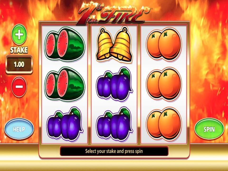 7s On Fire Slot Game