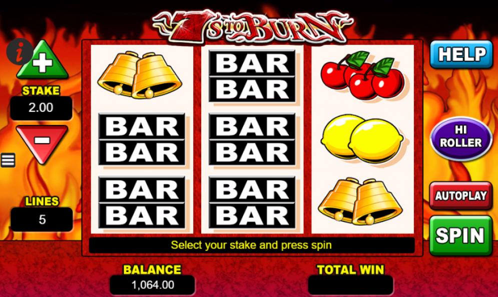 7s To Burn Gameplay Casino