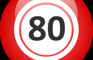 Bingo 80 Ball Cover