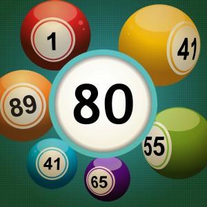80 Balls Instant Bingo