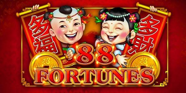Play 88 Fortunes Slot Online - Logo Image