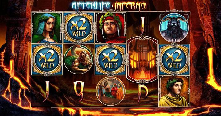 Afterlife Inferno slot Gameplay Image