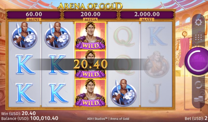 Arena of Gold Online Slots