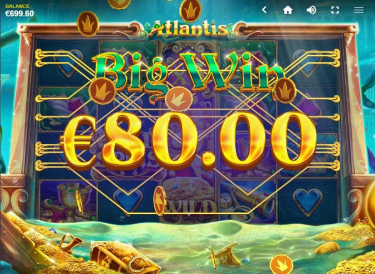 Atlantis Slot Big Win