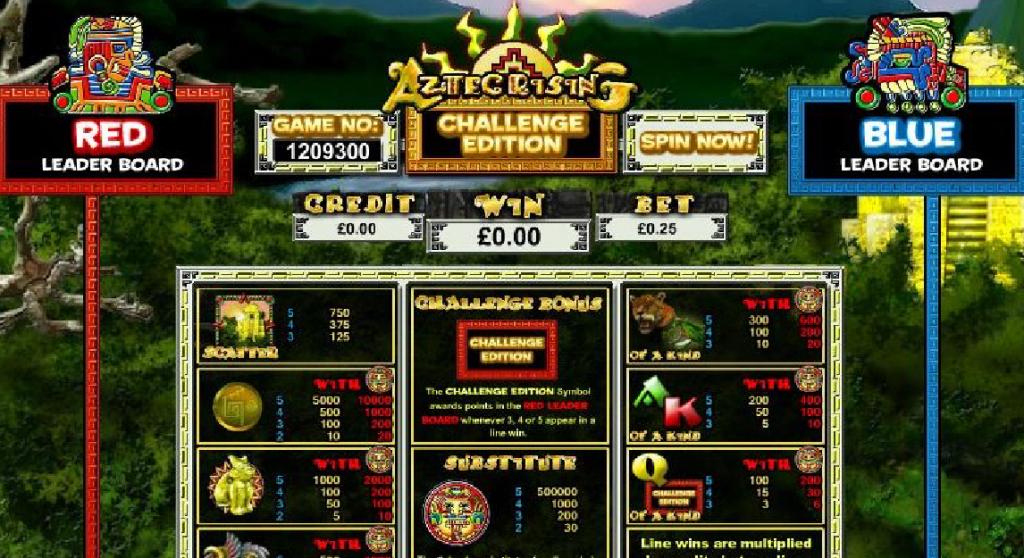 Aztec Rising Slots Bonus