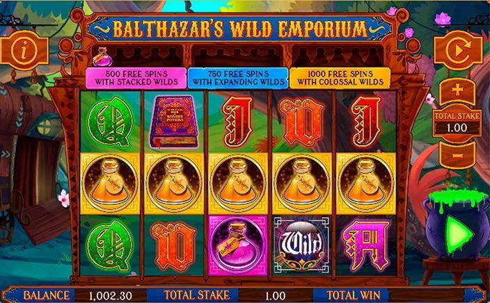 Balthazar's Wild Emporium Slot Online