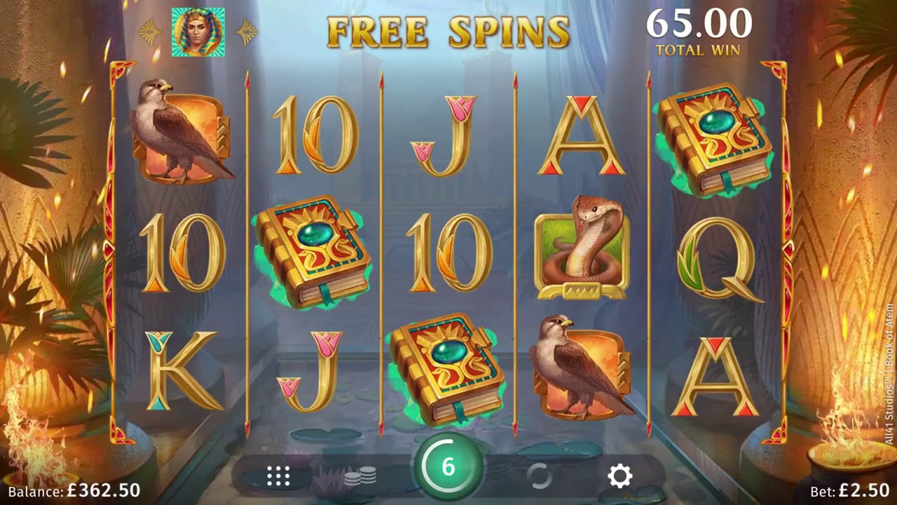 Book of Atem Casino Game