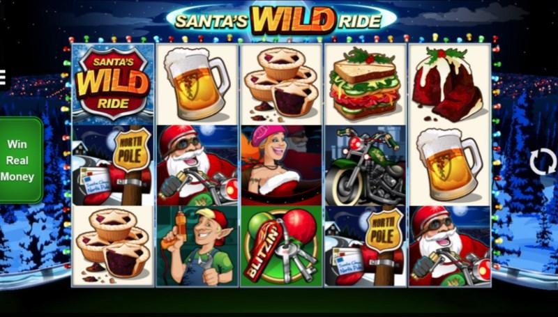 Santa's Wild Ride Casino Games