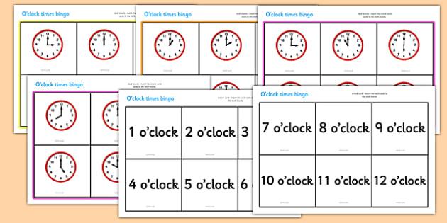Clock work Bingo Cover