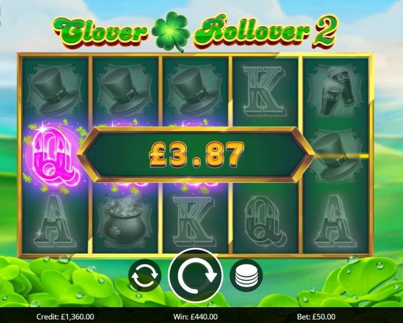 Clover Rollover 2 Slot Win