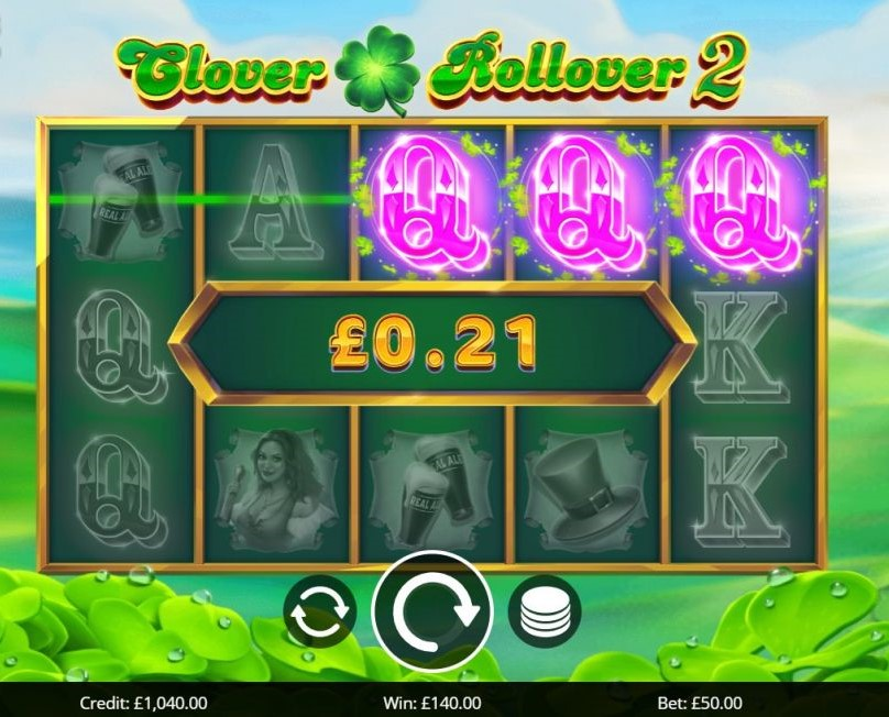 Clover Rollover 2 Free Slots