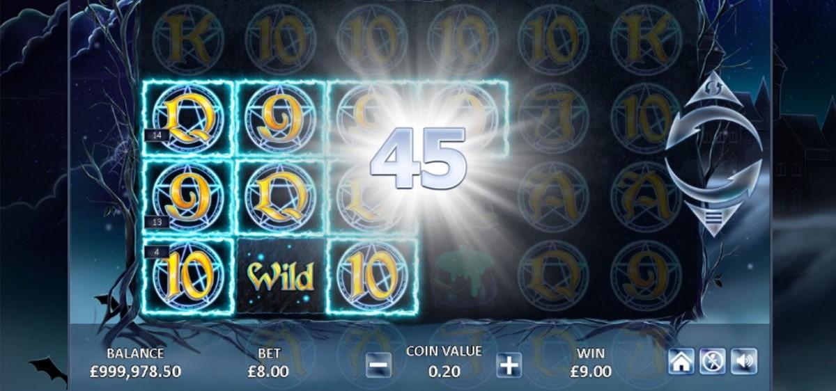 Dark Spells Slots Online