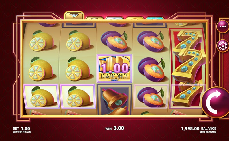 Deco Diamonds Slots Casino