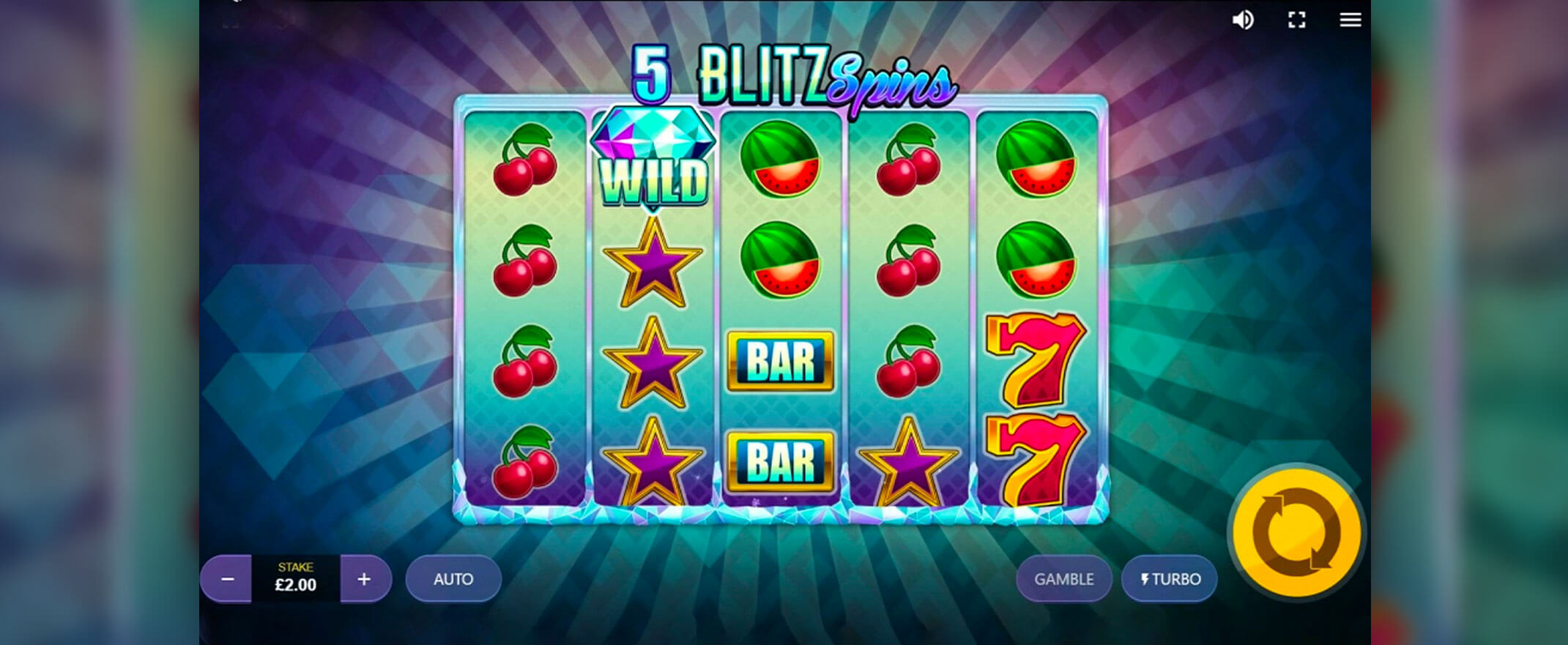 Diamond Blitz Slots Online