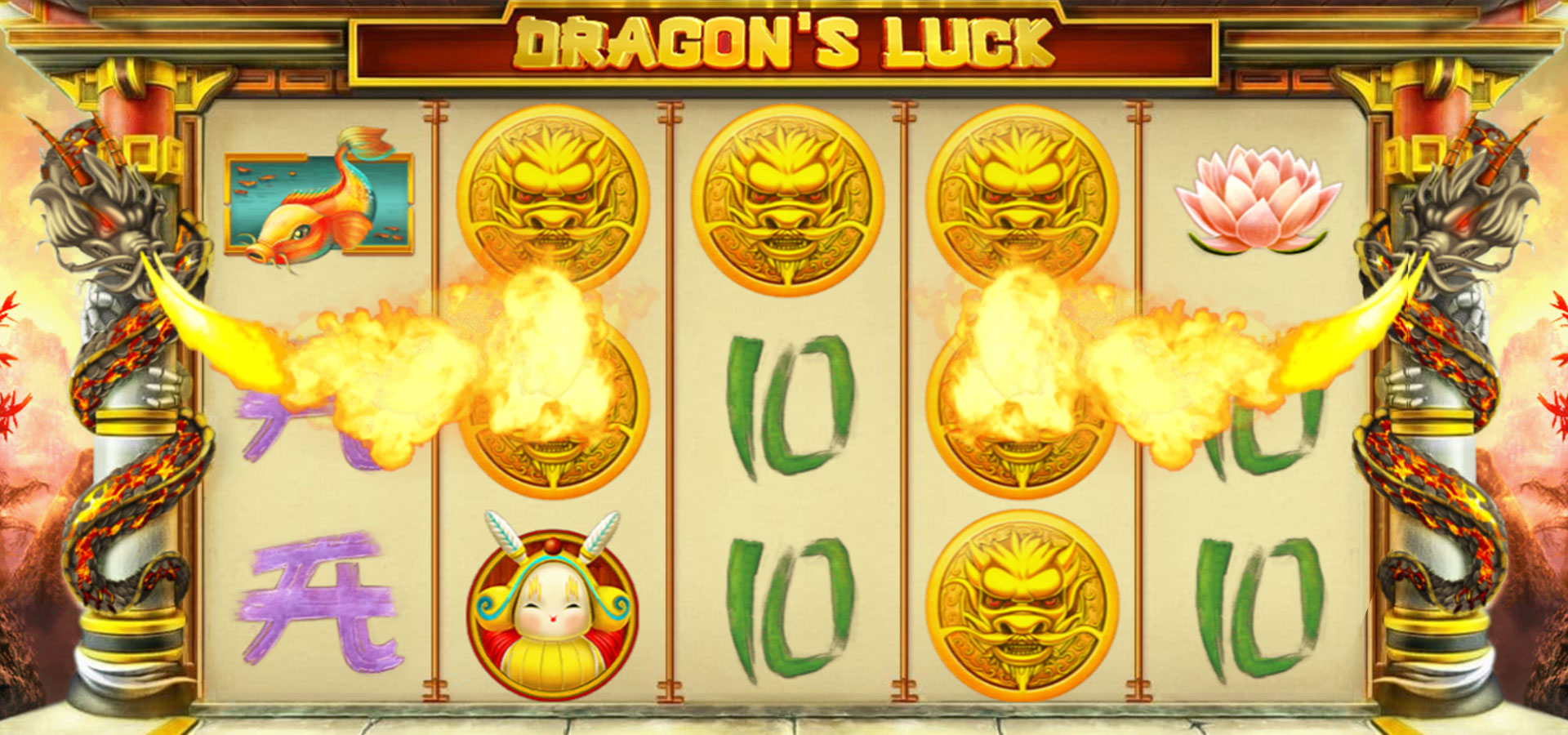 Dragon's Luck Slots Game