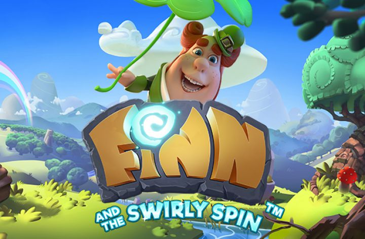 Finn and the Swirly Spinn online slot logo