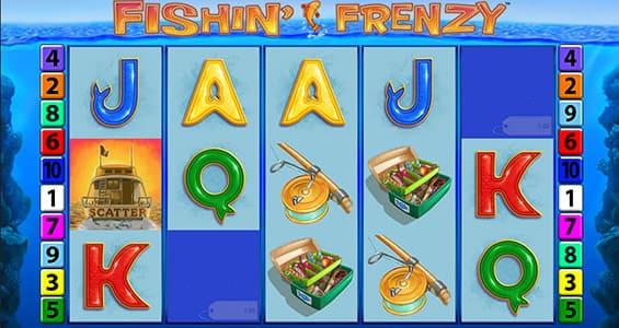 fishin frenzy gameplay umbingo