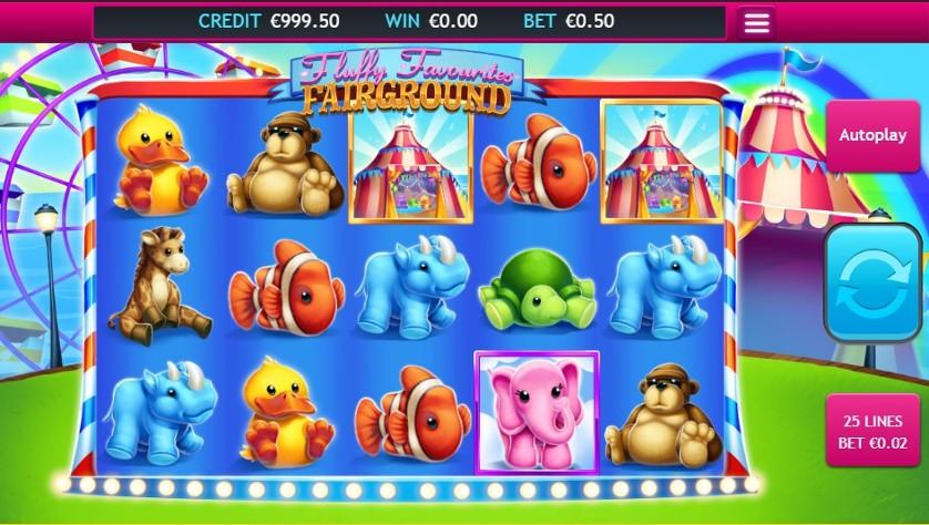 FLuffy Favourites Fairground Slot