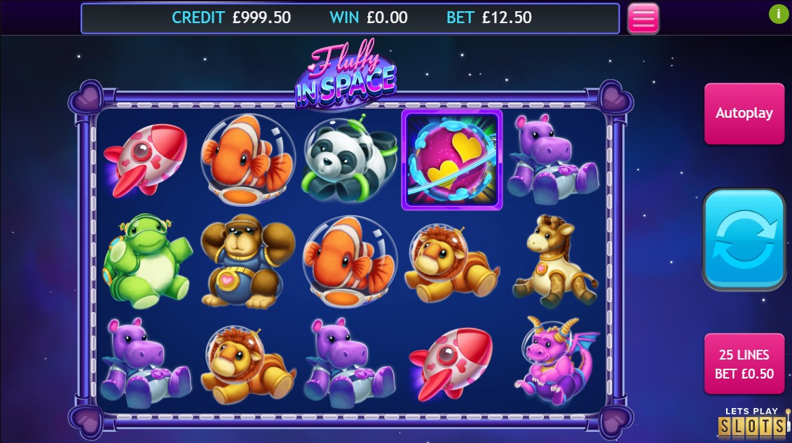 Fluffy in Space Slots Game