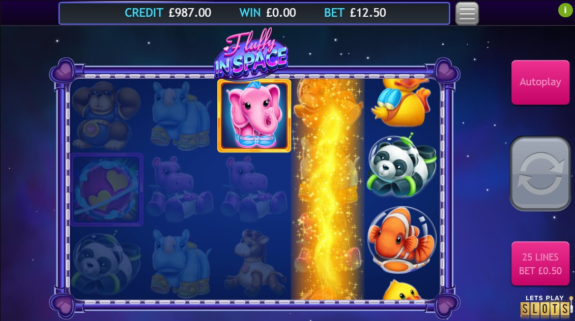 Fluffy in Space Jackpot Slots Game