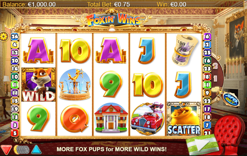 Foxin Wins Slot Game