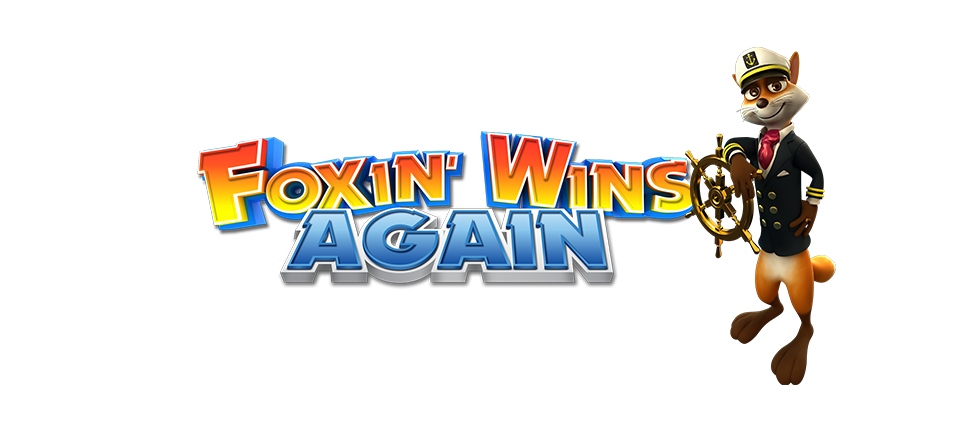 Foxin' Wins Again Slot Logo Umbingo