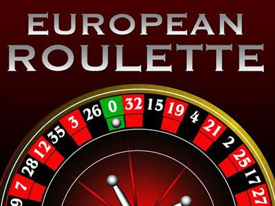 European Roulette slot logo