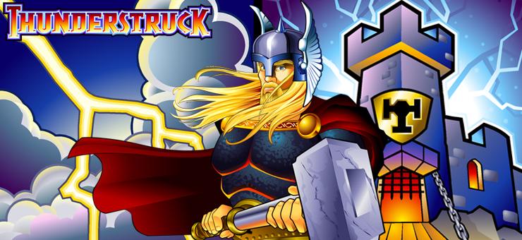 Thunderstruck online slot logo