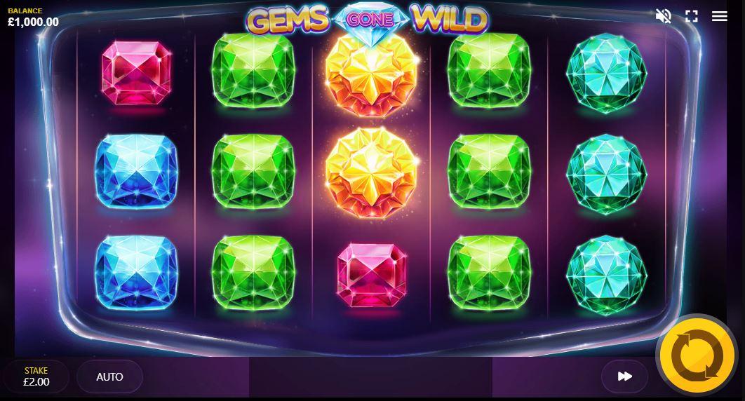 Gems Gone Wild Slot Online