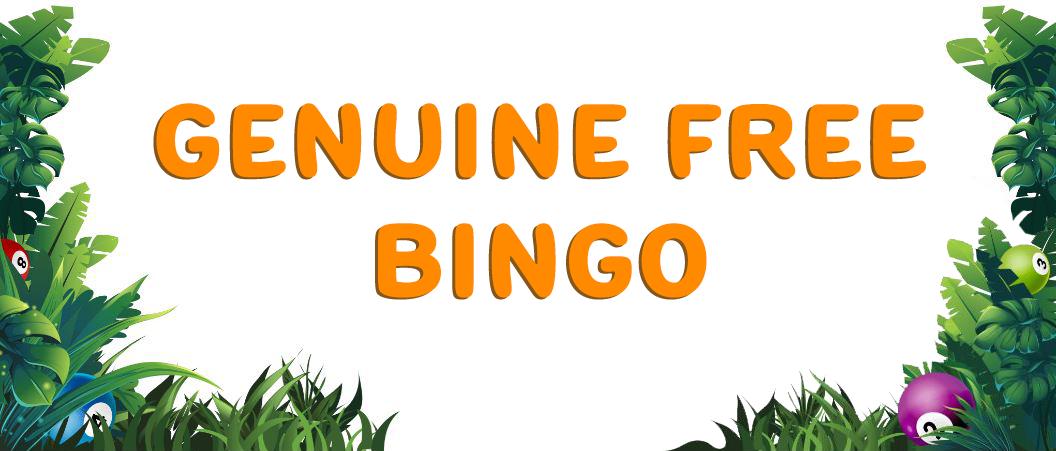 Genuine Free Bingo Umbingo