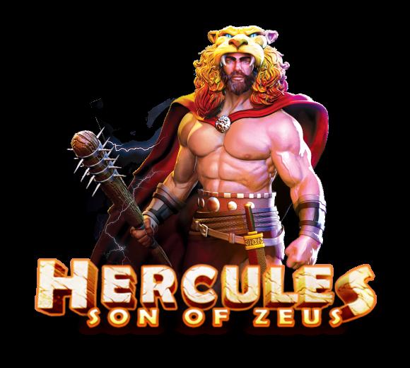 Hercules Son of Zeus Slot Logo Umbingo