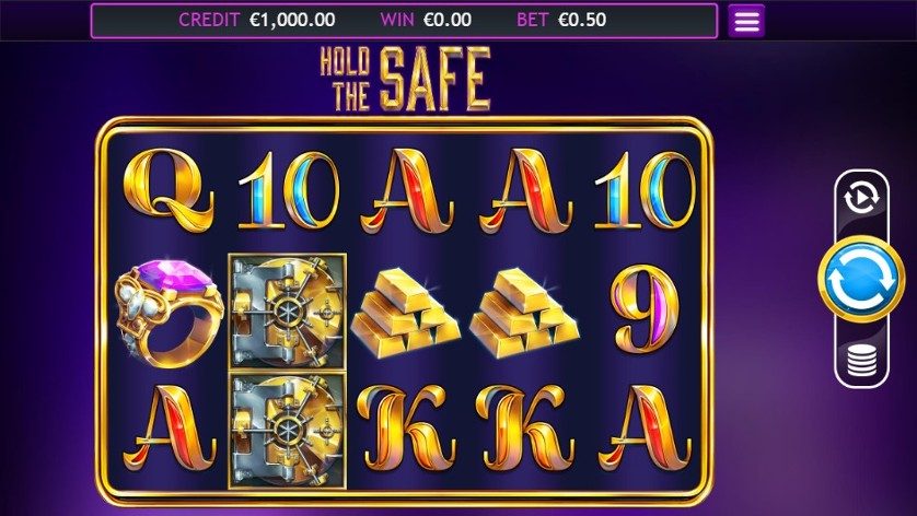 Hold The Safe Jackpot Slots Gameplay