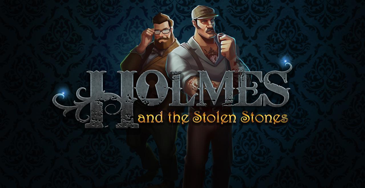 Holmes and the Stolen Stones Slot Logo Umbingo