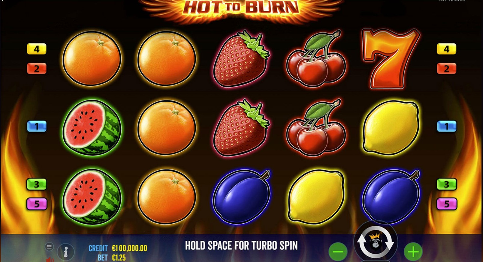 Hot to Burn Slots Game