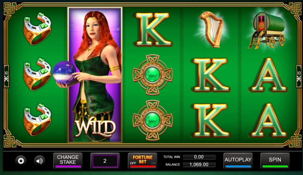 Irish Fortune Slot Game Play