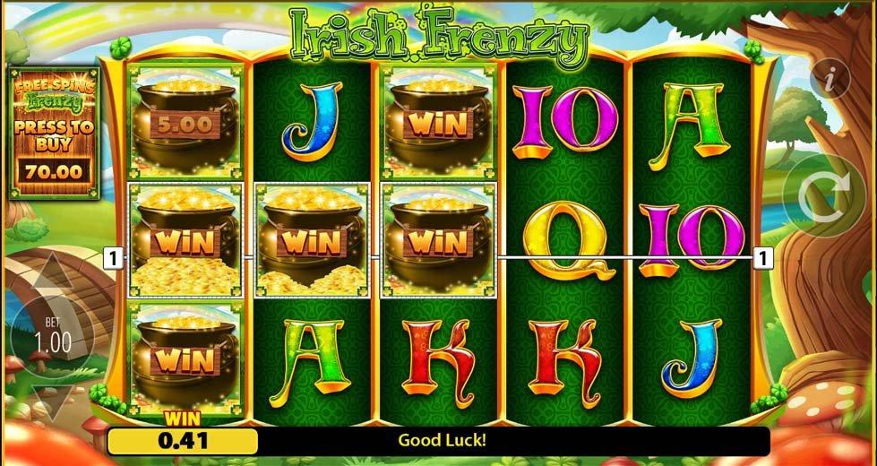 Irish Frenzy Slot Game play