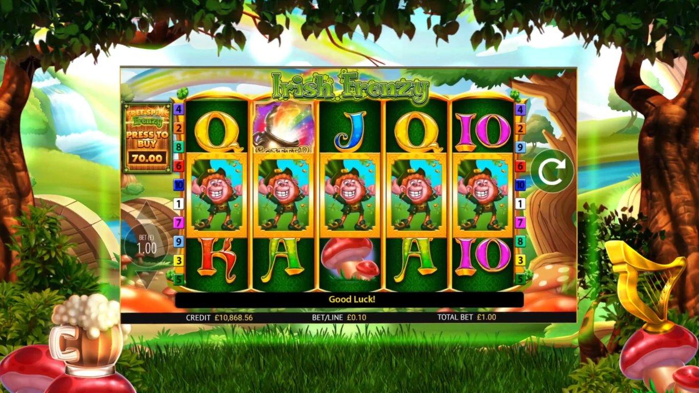 Irish Frenzy Slot gameplay