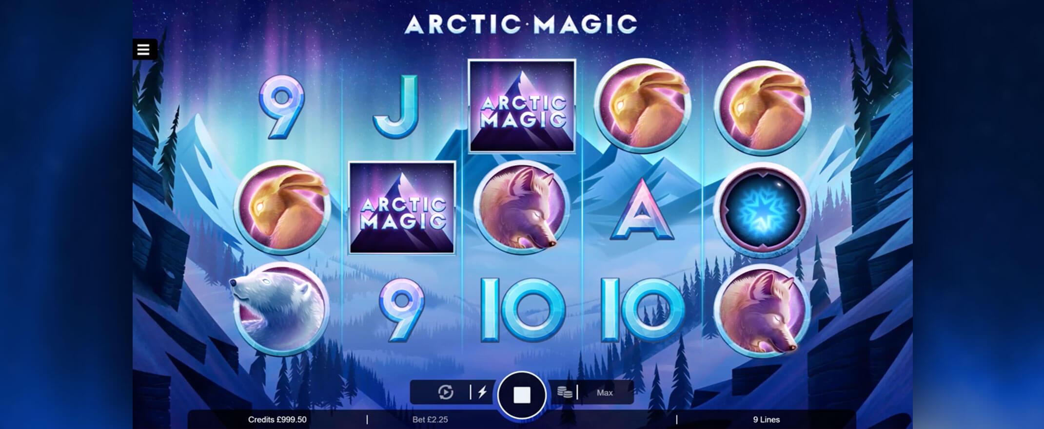 Arctic Magic Casino Game Play