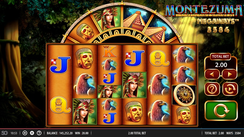 Montezuma MegaWays Game Play