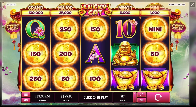 Lucky Cat Casino Slot