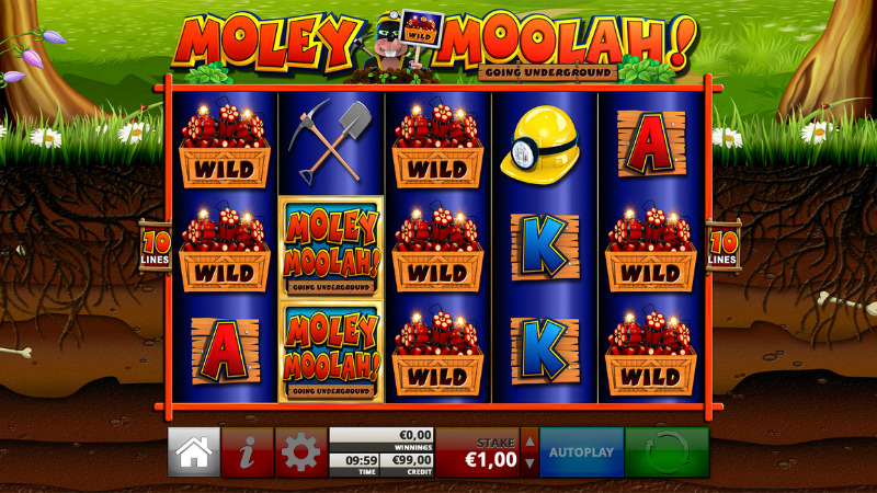 Moley Moolah! Slots Wilds